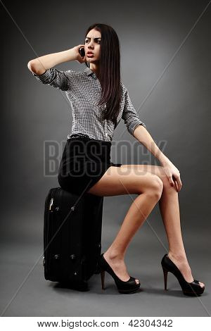 Traveling Businesswoman