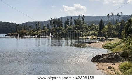 Schluchsee Waterside Scenery