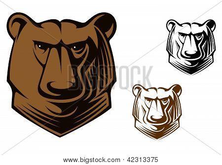 Kodiak Bear Mascot