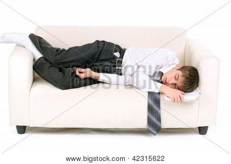 Teenager Fast Asleep
