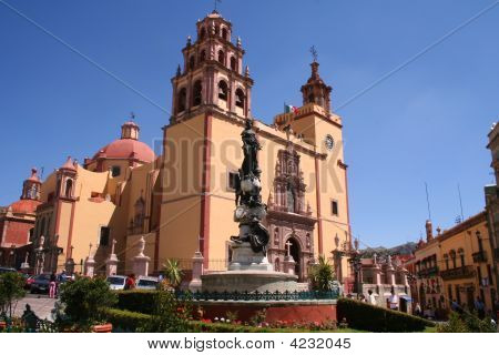 Church In Guanajuato / Mexico