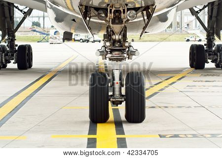 Commercial Airplane Wheels