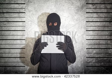Arrested Burglar