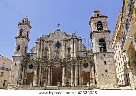 The Cathedral De San Cristobal De La Havana