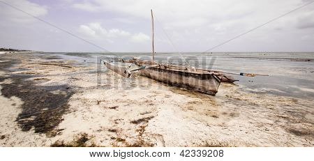 Dhow At Rest