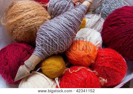 Yarn Of Carded Wool