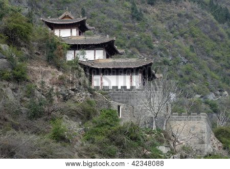 Traditional Building Near Yangtze River