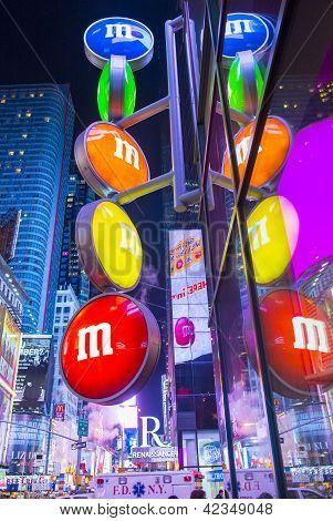 M&m World New York