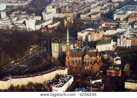 Panorama Of Warsaw