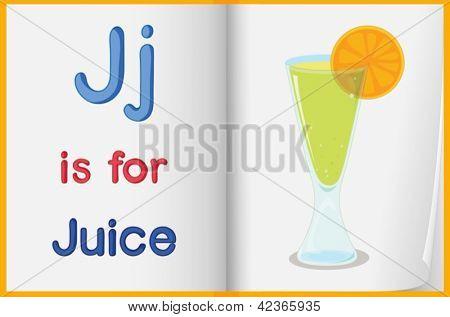Hoja de trabajo de alfabeto para la letra J