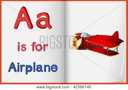 Hoja de trabajo de alfabeto para la letra A
