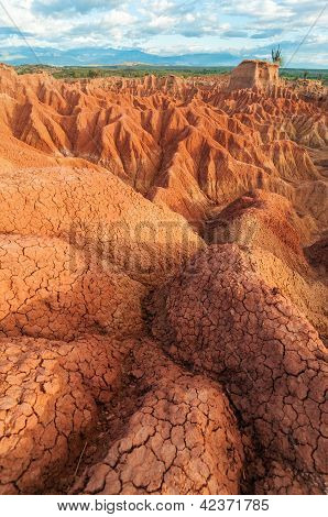 Interesting Desert Landscape