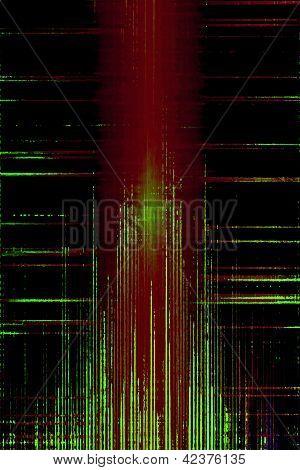 Grunge Audio Levels Equalizer