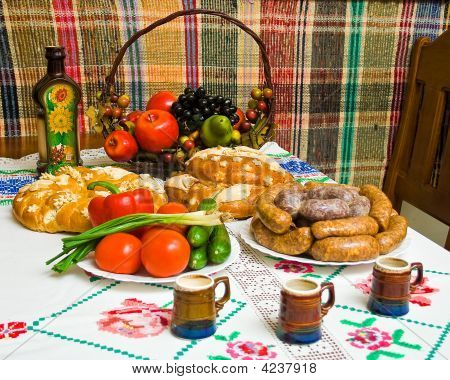Traditional Food Of Ukrinian People