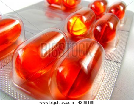 Liquid Gel Medication Tablets