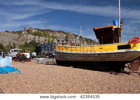 Trawler Hastings Fishing