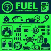 stock photo of fuel economy  - Fuel economy - JPG
