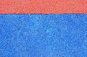 image of olympic stadium construction  - Texture of color rubber floor on playground - JPG