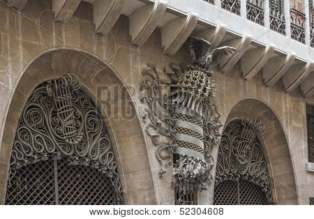 The Guell palace