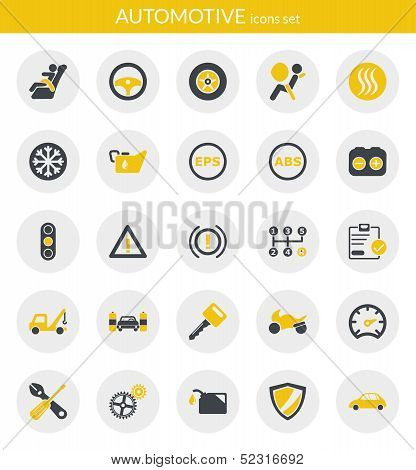 Icons About Automotive