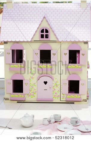 Dollhouse And Teaset