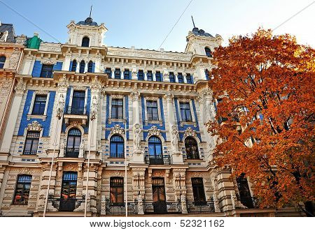 Architecture Of Riga, Latvia