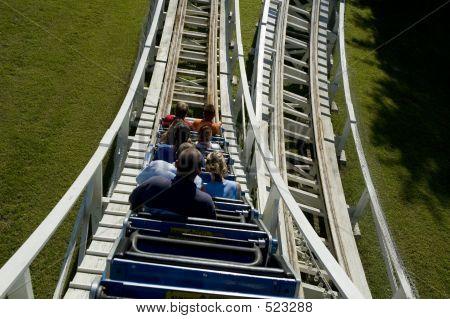 Wooden Rollercoaster