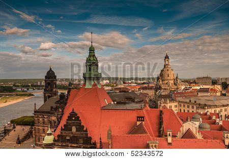Dresden From The Rooftops