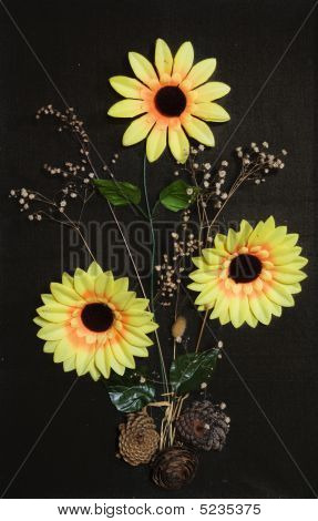 Handicraft: Sunflowers