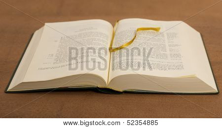 The Open Book - Gospel On A Wooden Table