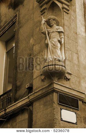 Statue In Aix-en-provence
