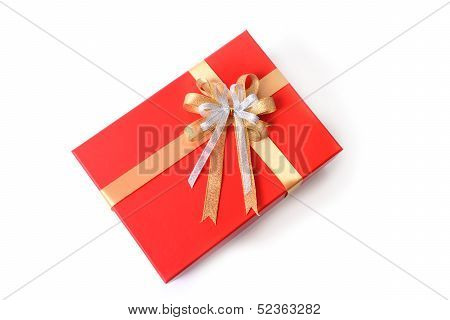 Gift Box On Topview