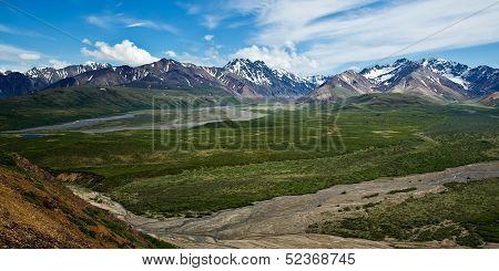 Denali's Polychrome Pass