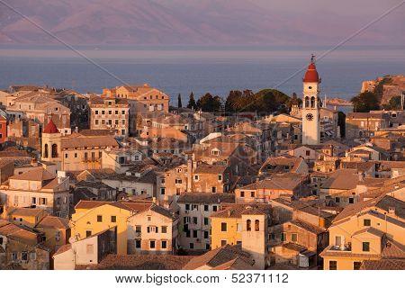 Kerkyra Town In Corfu