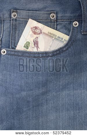 Pocket with money