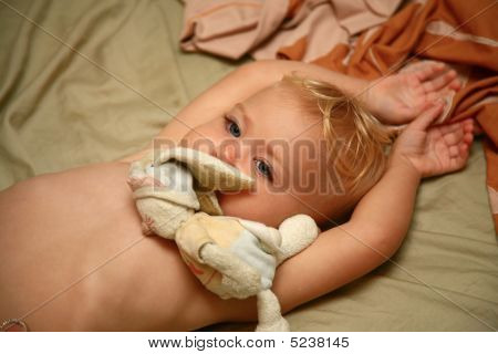 Baby With Plush