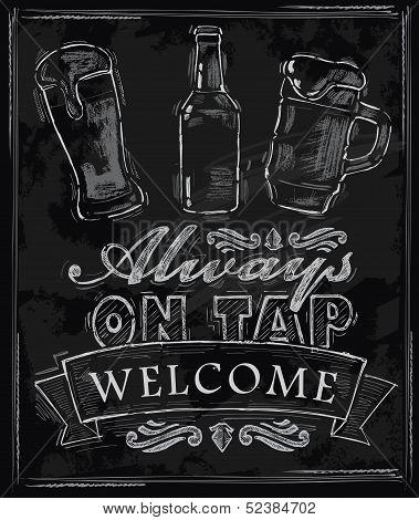 cerveja de giz