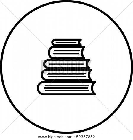books tower symbol
