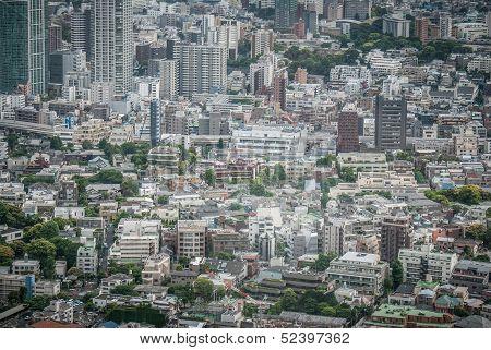 Downtown Tokyo Japan
