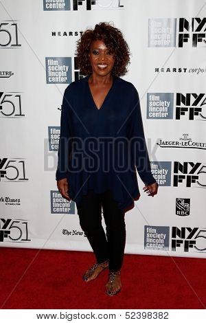NEW YORK- OCT 8: Actress Alfre Woodard attends the