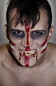 image of madman  - The teenager in the form of a Madman Indian  - JPG