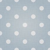 Spotted pattern. Vector seamless spotted pattern background. Linen spotted textile pattern. Polka do