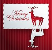 christmas paper greeting card backgrounds