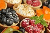 picture of tarts  - Berries tarts - JPG