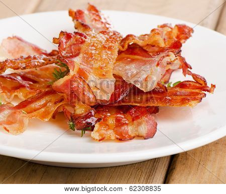 Cooked Bacon Rashers