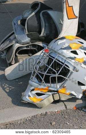 Hockey goalie mask
