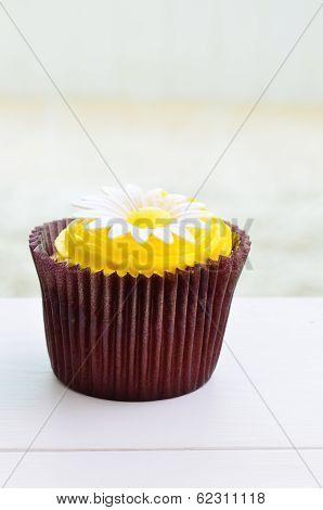 Chocolate And Lemon Cupcake