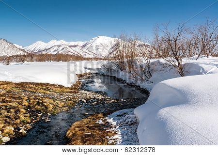 Hot Spring In The Nalichevo National Park