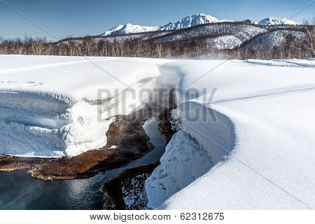 Griffin Ivanova, Hot Spring In The Nalichevo National Park. Unesco World Heritage Site. Kamchatka, F