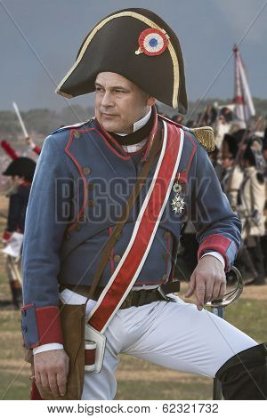 French soldier during Representation of the Battle of Bailen